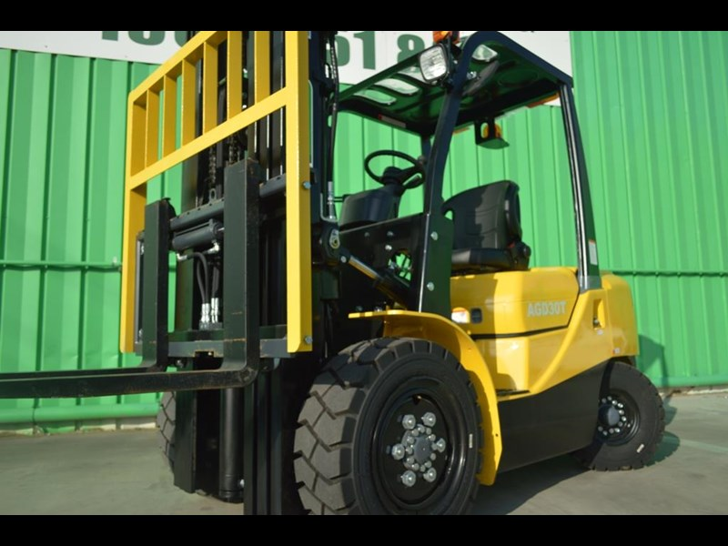 agrison 3 tonne forklift - 3 stage cont. mast - nationwide delivery 505629 011