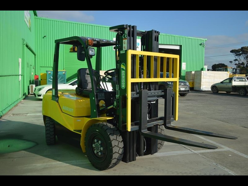 agrison 3 tonne forklift - 3 stage cont. mast - nationwide delivery 505629 013