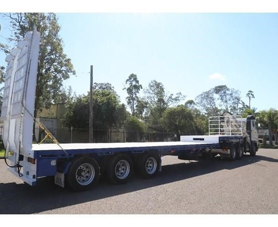 aaa 45' extendable drop deck without bi-fold ramps 505237 005