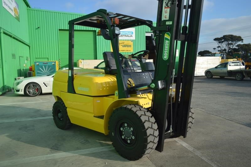 agrison 5 tonne forklift - 3 stage cont. mast - nationwide delivery 505661 001
