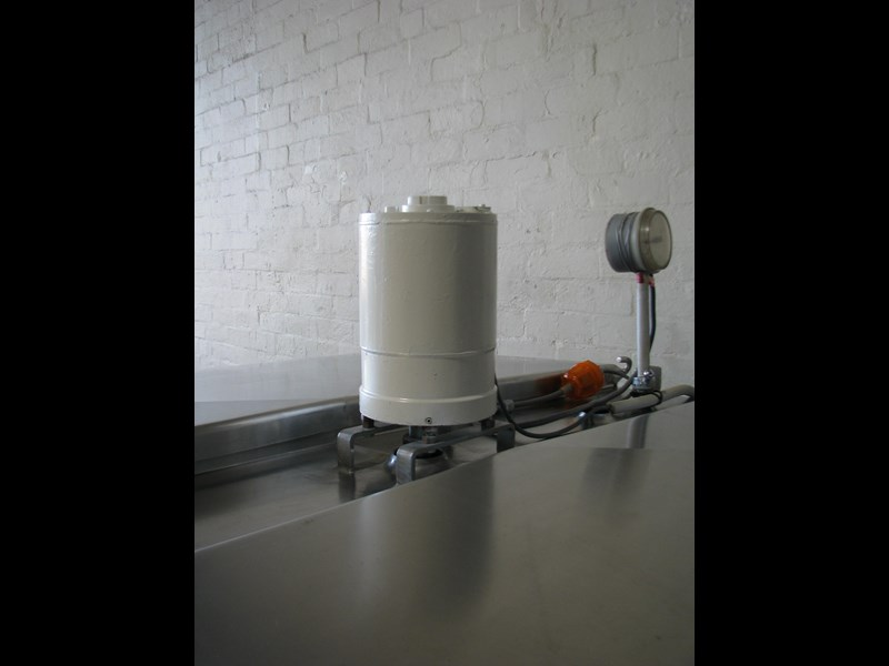 stainless steel jacketed tank vat food grade - 1500l 506060 003