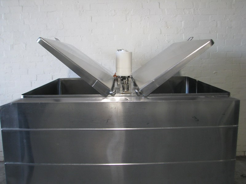 stainless steel jacketed tank vat food grade - 1500l 506060 011