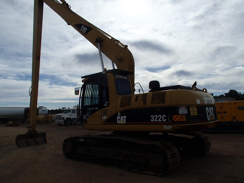 caterpillar 322c long stick 509519 011