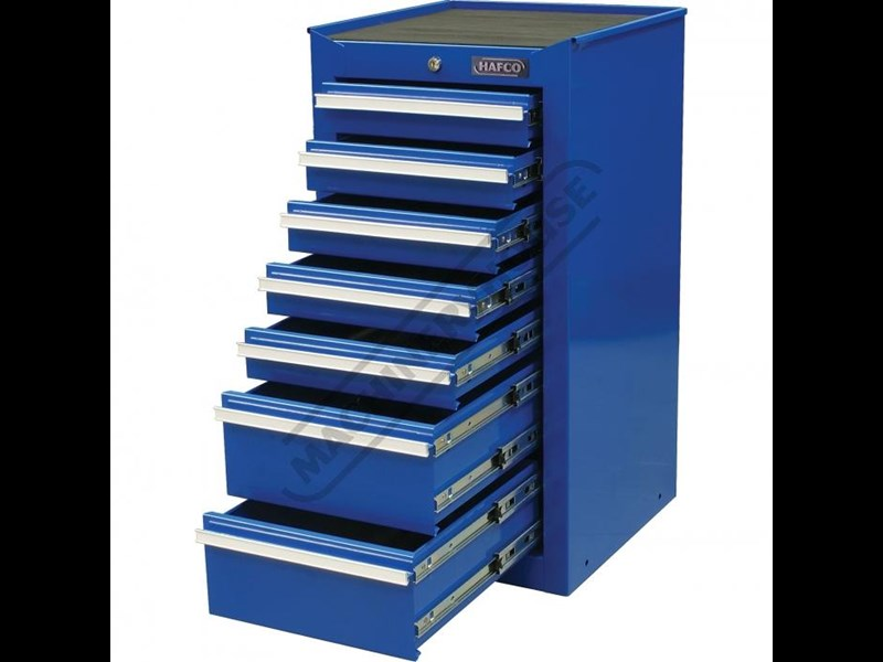 tool chests ich-8d + irc-7d + isl-2d + isc-7d - industrial series tool chest & roller cabinet with side locker & side cabinet package 109016 013