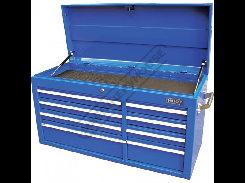 tool chests ich-8d + irc-7d + isl-2d + isc-7d - industrial series tool chest & roller cabinet with side locker & side cabinet package 109016 011