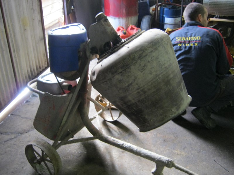 custom cement mixer electric 520002 001