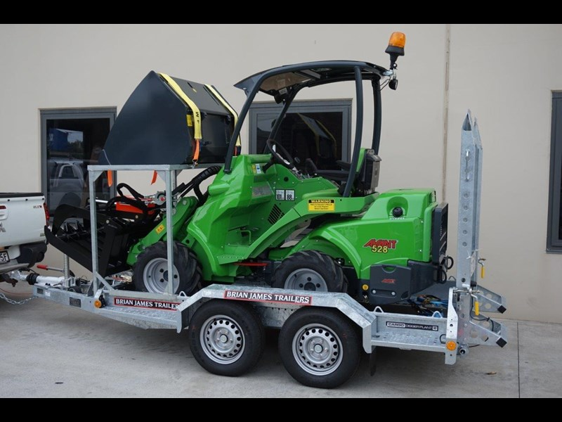 avant articulated mini loader trailer package 520176 005