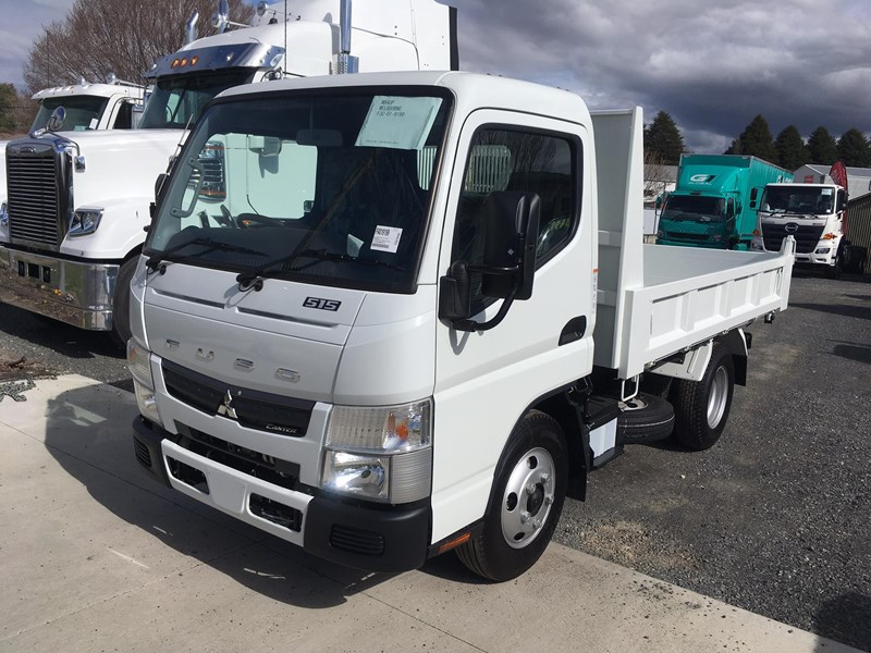 fuso canter 515 city cab tipper 520997 001