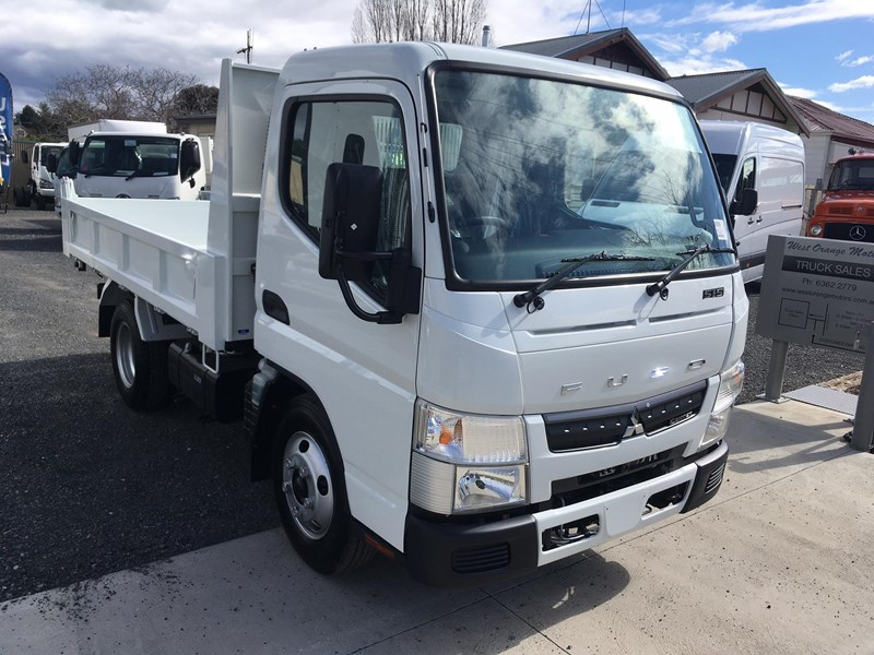 fuso canter 515 city cab tipper 520997 005