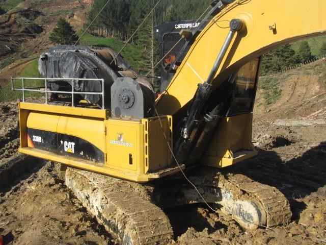 caterpillar 330dl harvestline 523657 009