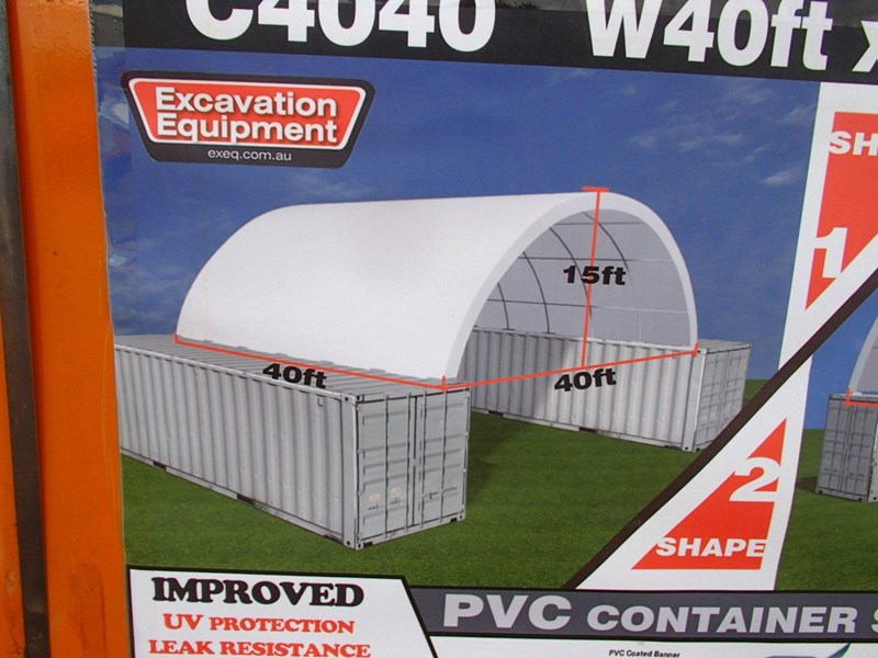container shelter 40ft x 40ft x 15ft 526975 003