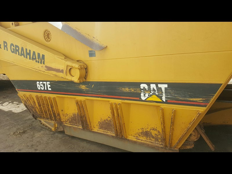 caterpillar 657e scraper 530908 009