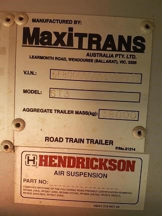 maxitrans 45ft flat top trailer 536835 015