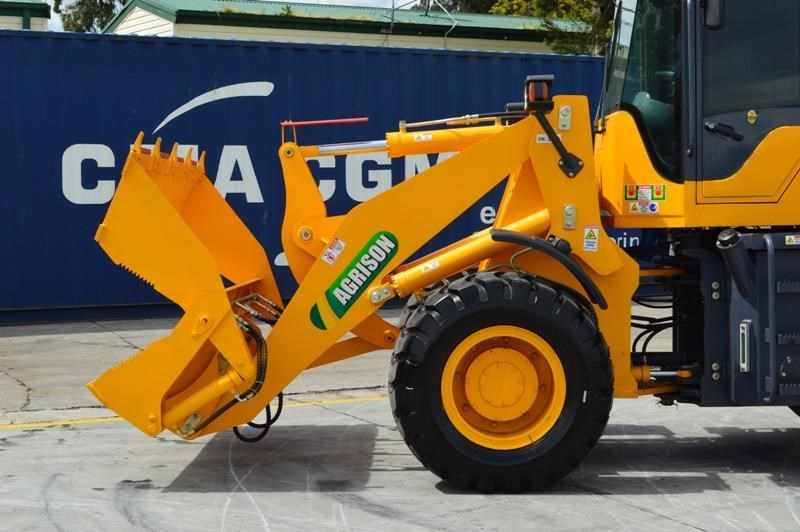 agrison tx926l wheel loader 5.5tonne 2000kg capacity 5year warranty 100378 065