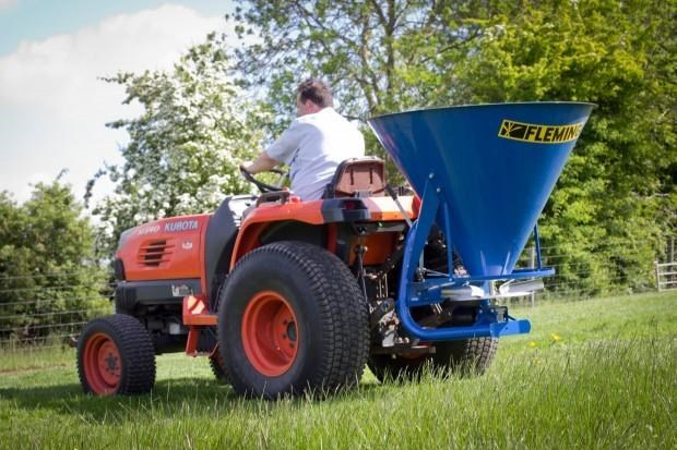 fleming fs500 - fertiliser spreader 549466 005