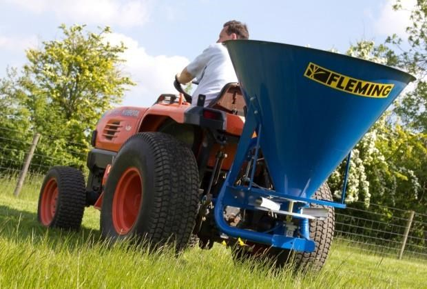 fleming fs500 - fertiliser spreader 549466 001