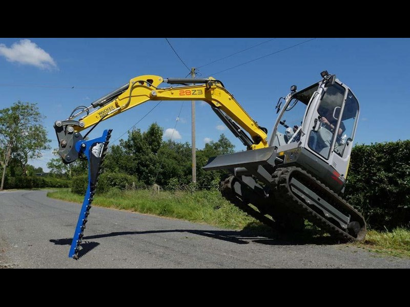 slanetrac hc-150 hedge cutter with hitch 550866 005