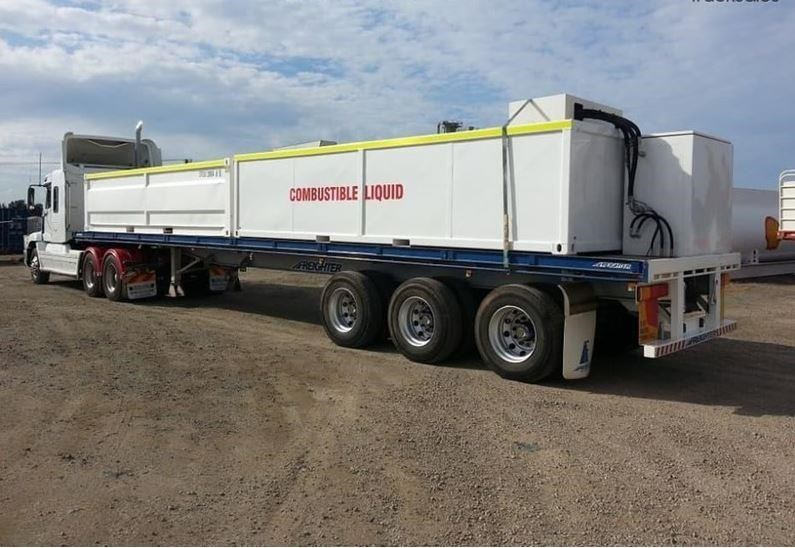 maxitrans 45ft flat top trailer 536835 005