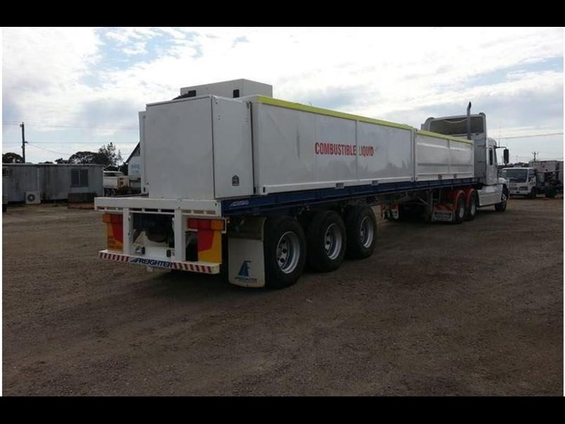 maxitrans 45ft flat top trailer 536835 007