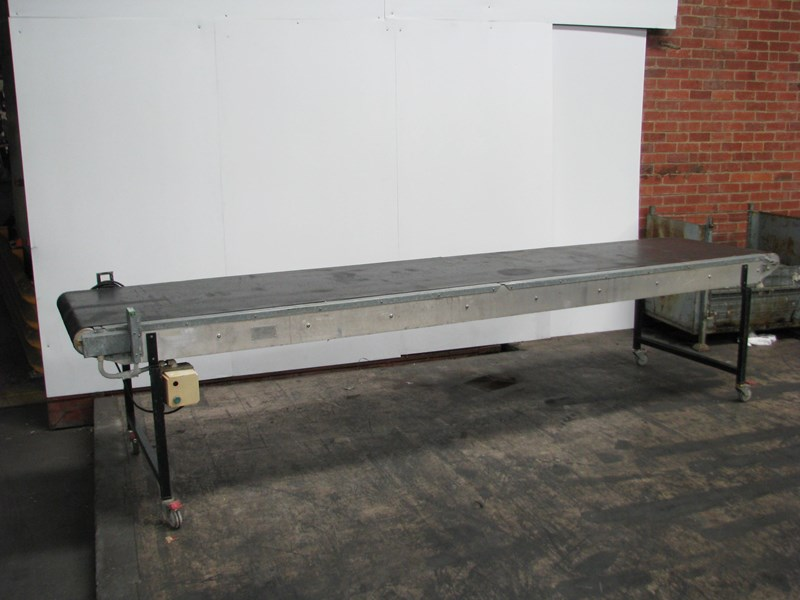 melbourne conveyor company motorised belt conveyor - 4m long 555250 001