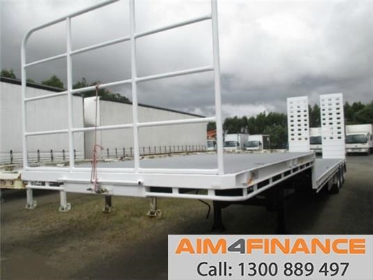 a.m.t atm dropdeck, 45ft deck traile 556537 001