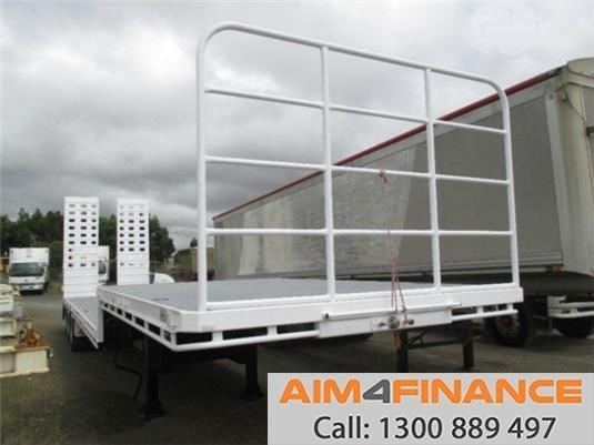 a.m.t atm dropdeck, 45ft deck traile 556537 005