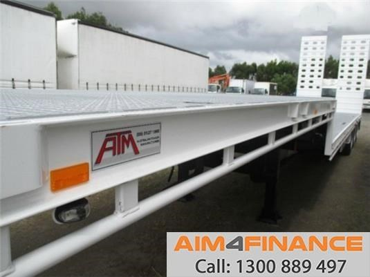 a.m.t atm dropdeck, 45ft deck traile 556537 015