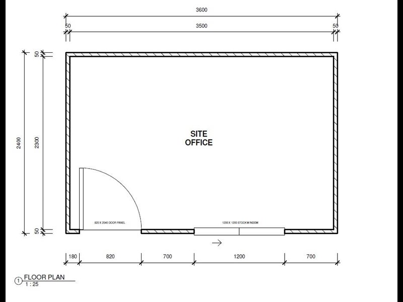 mcgregor 3.6m x 2.4m site office 496323 007