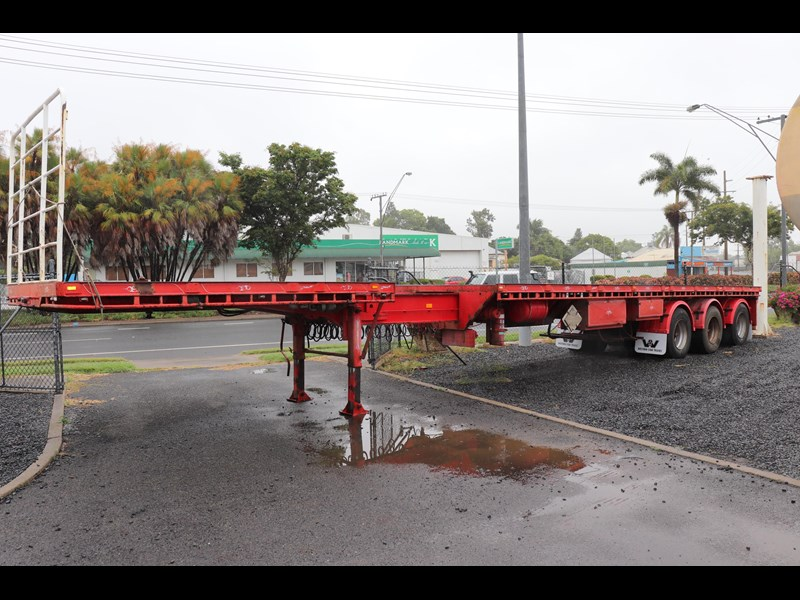 haulmark flat top extendable semi trailer 568096 001