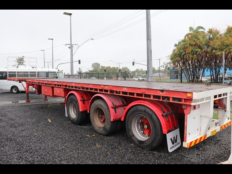 haulmark flat top extendable semi trailer 568096 007