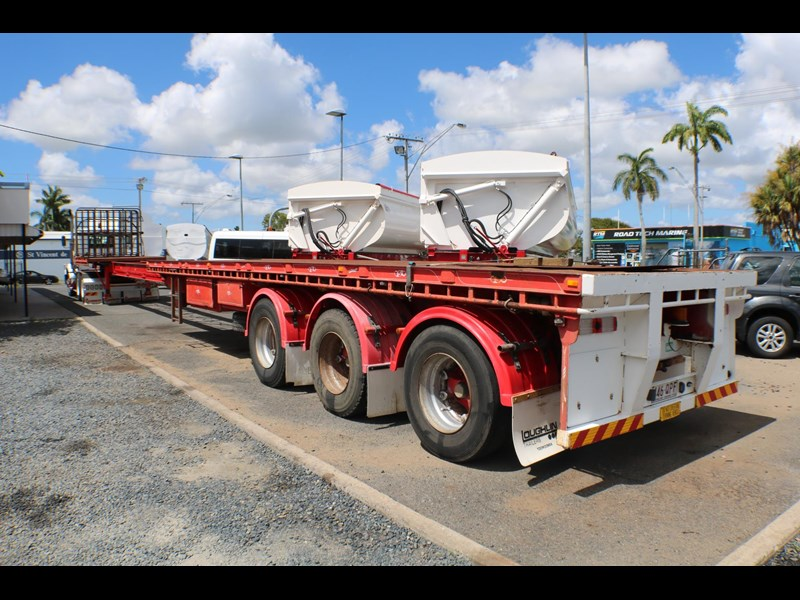 haulmark flat top extendable semi trailer 568096 003
