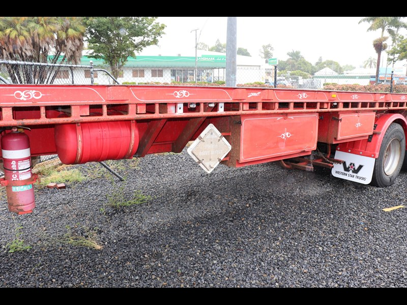 haulmark flat top extendable semi trailer 568096 015