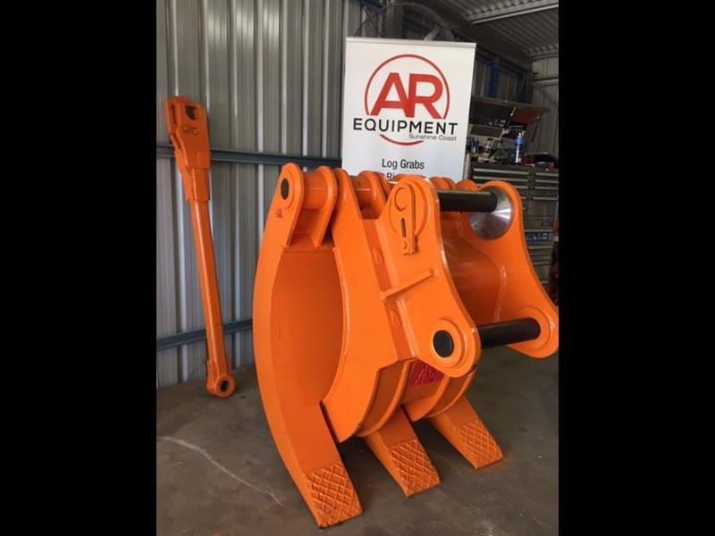 ar equipment are 20-24 ton log demo mechanical grab 444370 003