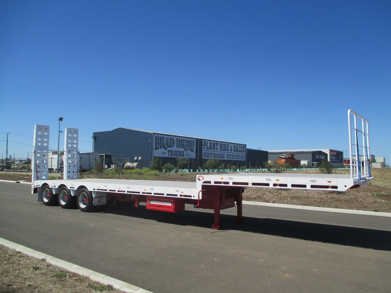 "mammoth trailer equipment new 45"" drop deck trailer 577531 001"