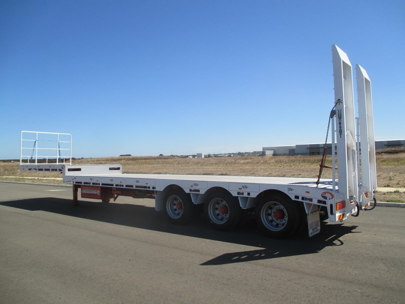 "mammoth trailer equipment new 45"" drop deck trailer 577531 009"