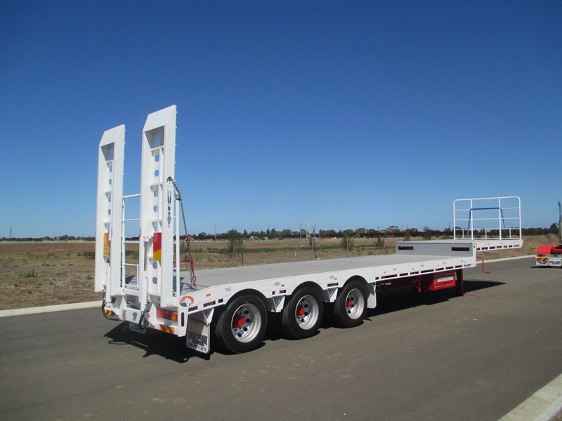 "mammoth trailer equipment new 45"" drop deck trailer 577531 007"