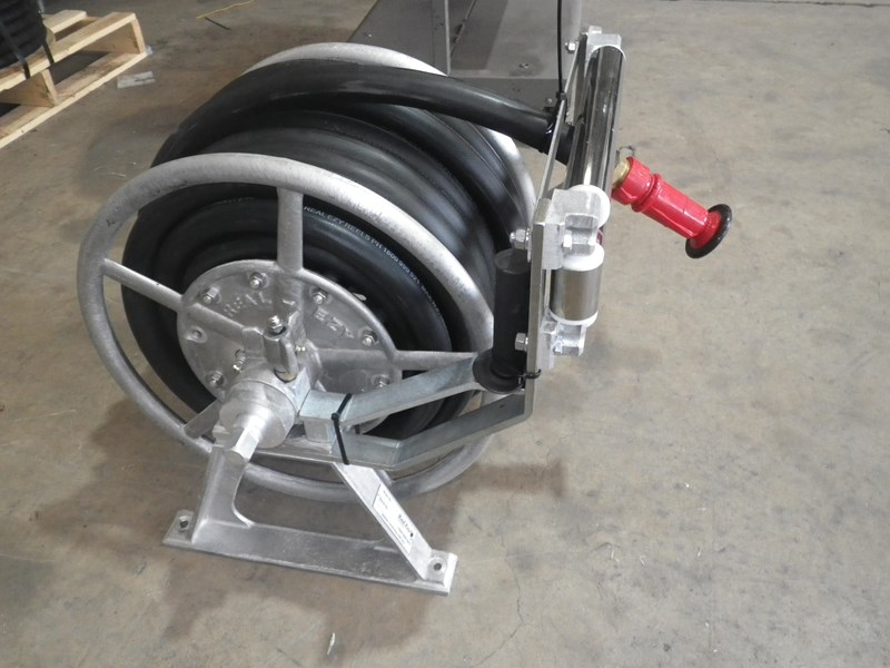 elkhart brass & real- ezy, hose reels 8100 hd monitor water cannon & hose reels 86636 005