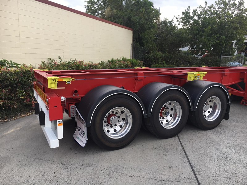 panus retractable skeletal semi trailer 499267 015