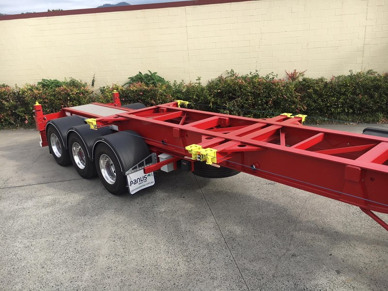 panus retractable skeletal semi trailer 499267 025