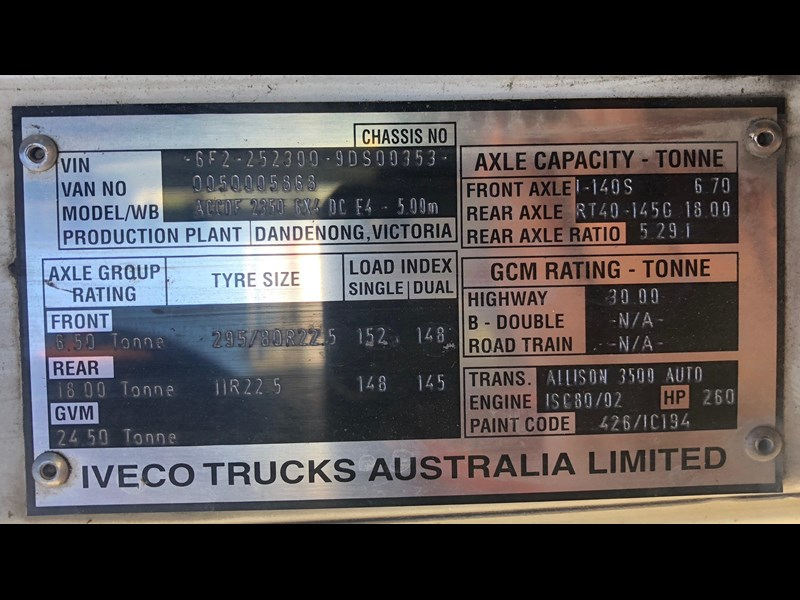 iveco acco 2350g 630809 007