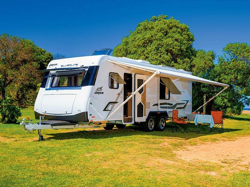 Perfect New JAYCO JOURNEY 17553 OB Caravans For Sale