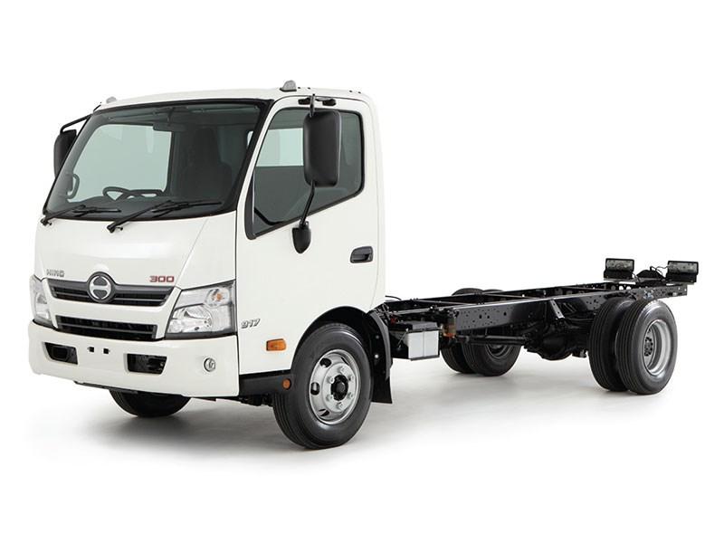 New HINO 300 916 LONG HYBRID PROSHIFT 5 Trucks for sale
