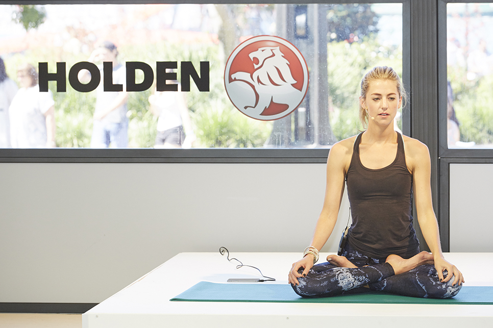 Holden hosts wellness enthusiasts