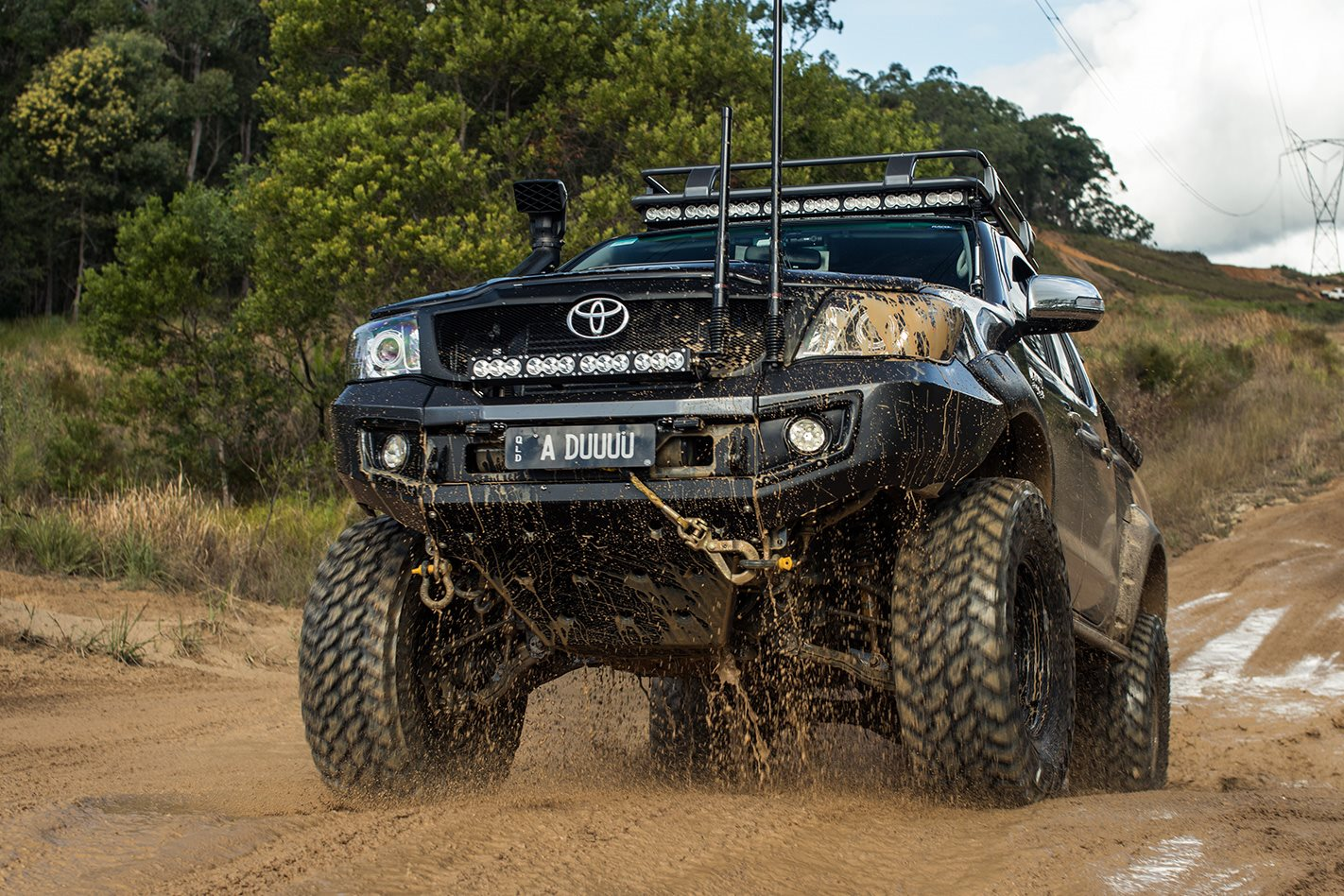 custom 4x4 toyota hilux sr5 4x4 australia. Black Bedroom Furniture Sets. Home Design Ideas