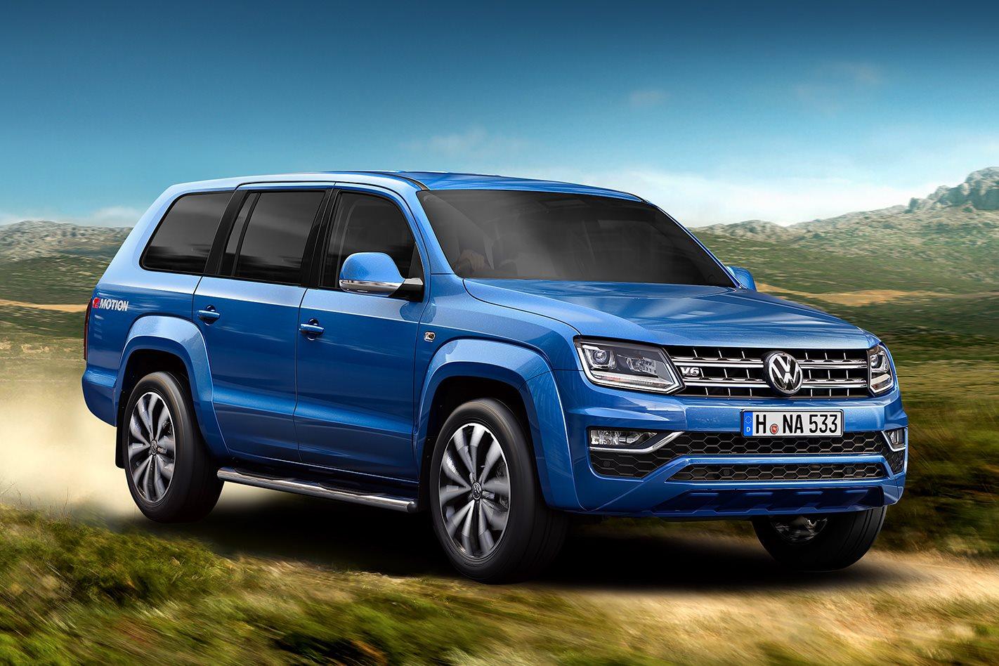 Volkswagen Hints At Seven Seat Wagon 4x4 Australia