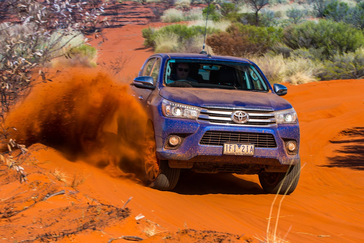 Toyota Hilux breaks the Canning Stock Route