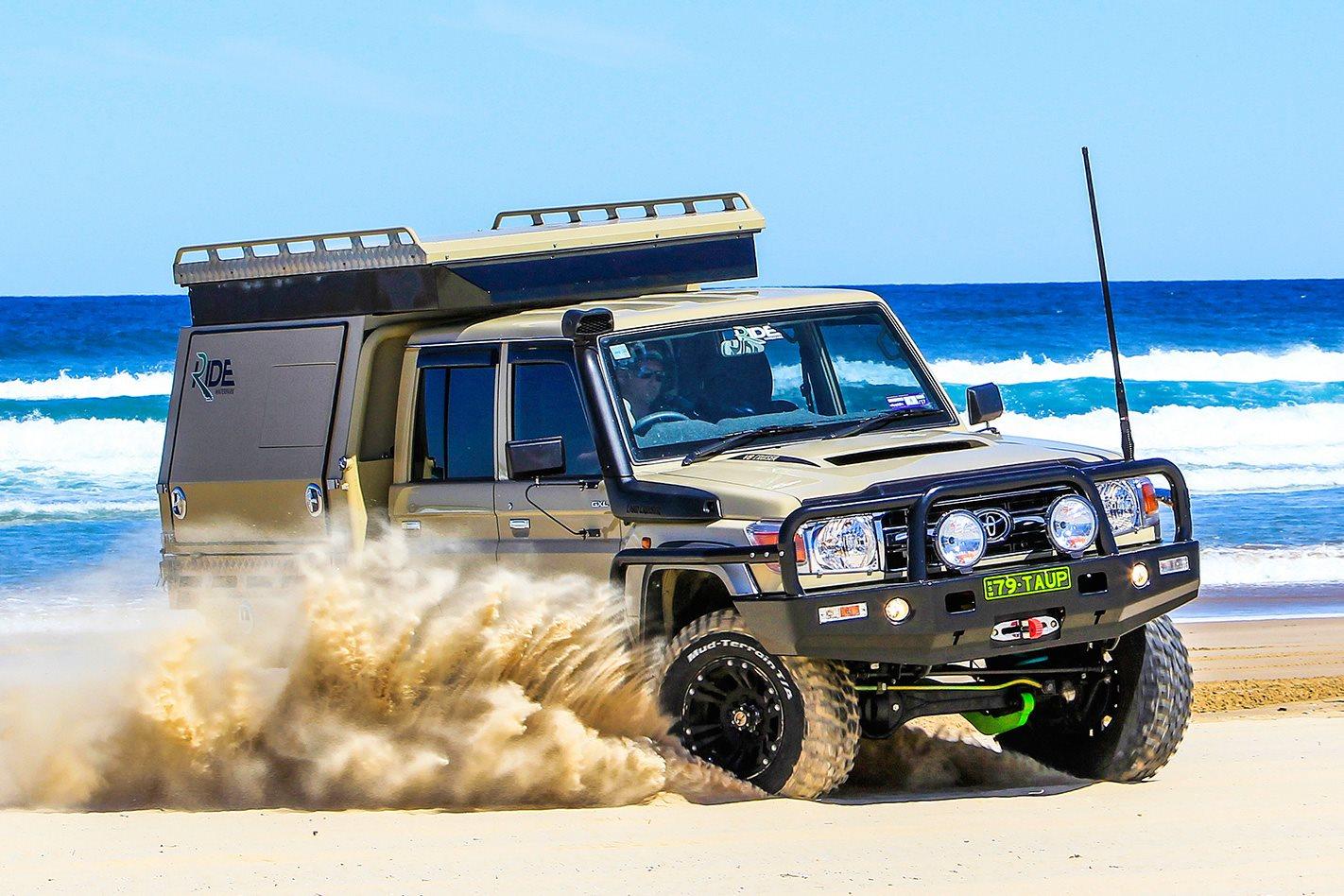 Toyota Of Everett >> Custom Toyota LandCruiser 79: Video review | 4X4 Australia
