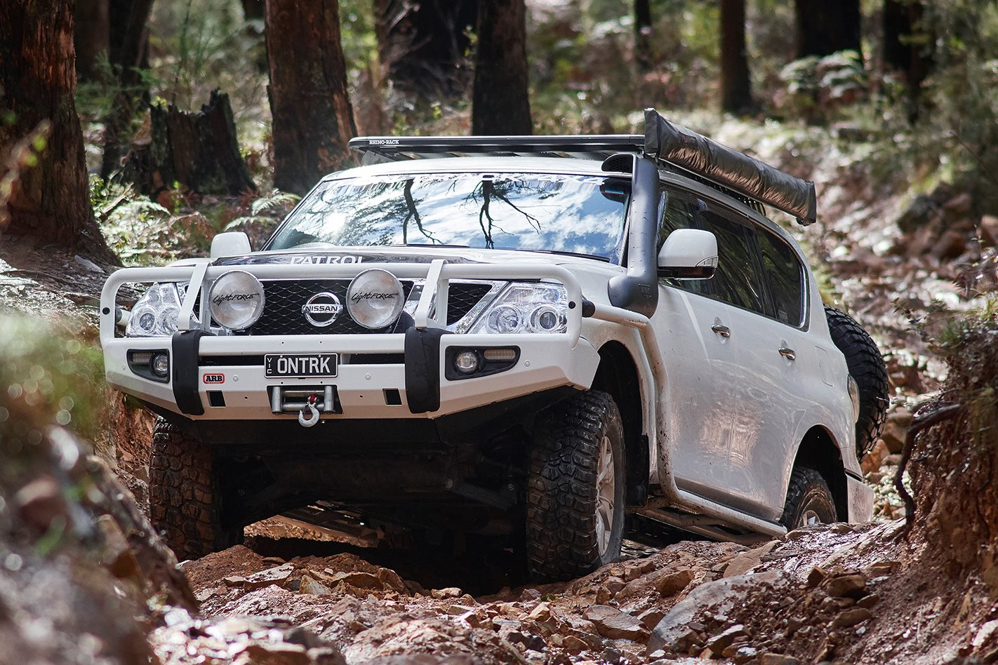 custom nissan y62 patrol video review 4x4 australia. Black Bedroom Furniture Sets. Home Design Ideas
