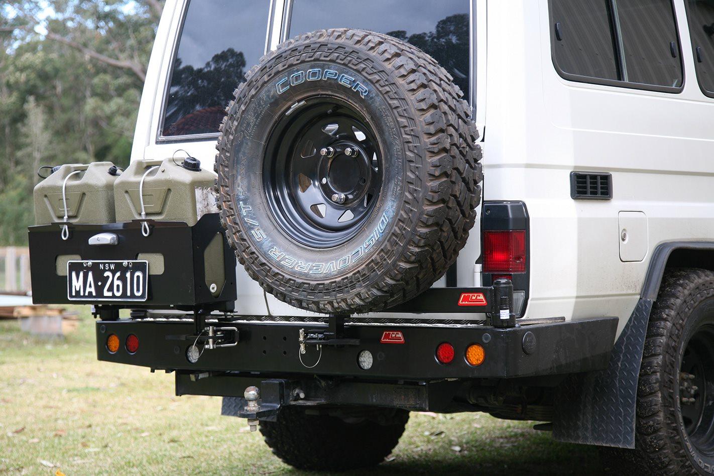 Mcc Rear Wheel Carrier Product Test 4x4 Australia