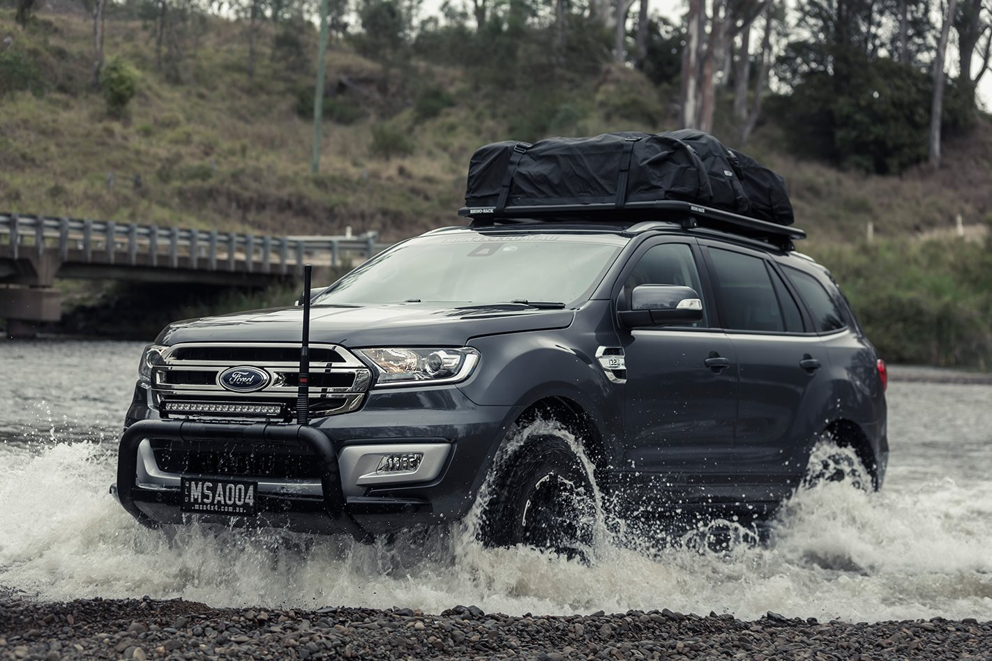 Custom Msa 4x4 Ford Everest Review 4x4 Australia